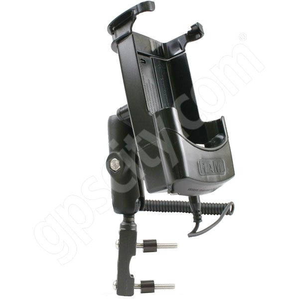 RAM Mount Powered Compaq iPaq 3xxx 5xxx Motorcycle Handle Mount