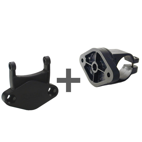 RAM Mount Bike Rail Mount with Garmin Cradle Connector