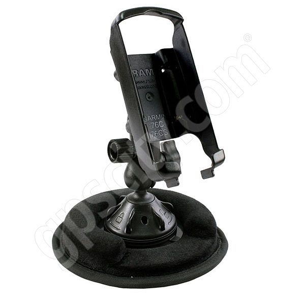 RAM Mount Garmin GPSMAP 76 Series Non Skid Suction Mount