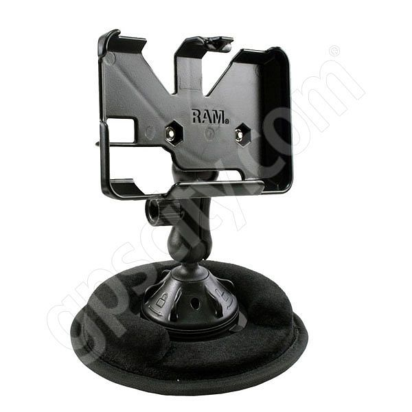 RAM Mount Garmin nuvi 2xxW and nuvi 465T Series Non Skid Suction Mount