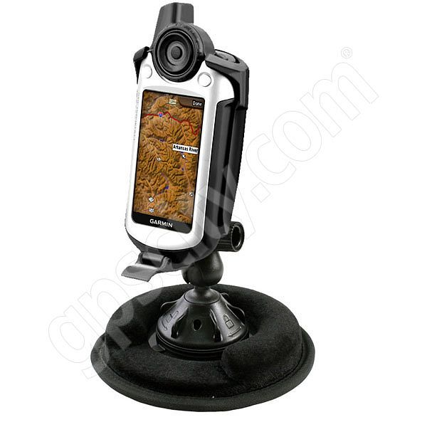 RAM Mount Garmin Colorado Series Non Skid Grip-Lock Suction Mount
