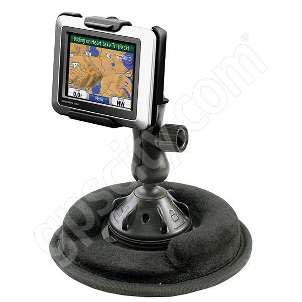 RAM Mount Garmin nuvi 500 Series Non Skid Grip-Lock Suction Mount