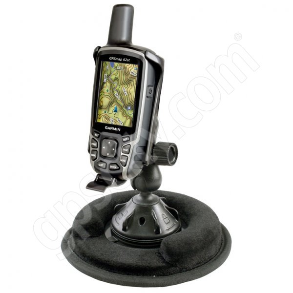 RAM Mount Garmin GPSMAP 62 62s 62st Non Skid Grip-Lock Suction Mount
