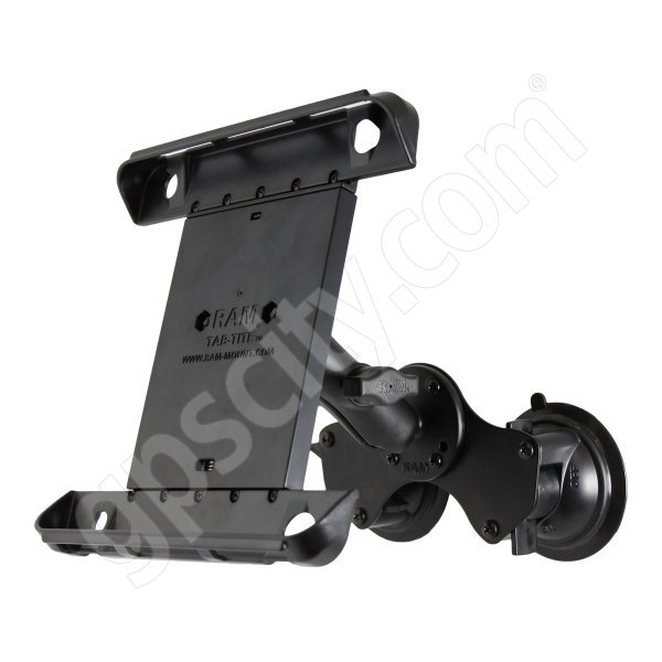 RAM Mount Tab-Tite Double Suction Mount with Standard Arm RAM-B-189-TAB3U Additional Photo #1