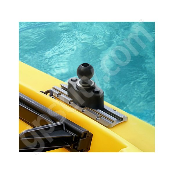 RAM Mount Plastic Track Rail Adapter B-Ball RAP-B-383U Additional Photo #1