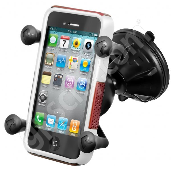 RAM Mount Universal X-Grip Snap Link Suction Mount RAP-SB-224-2-UN7