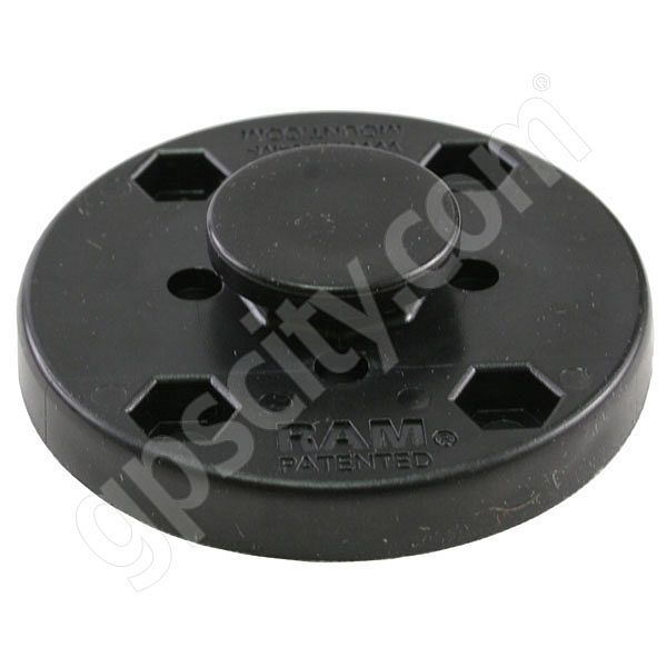 RAM Mount Round Plate with Octagon Button