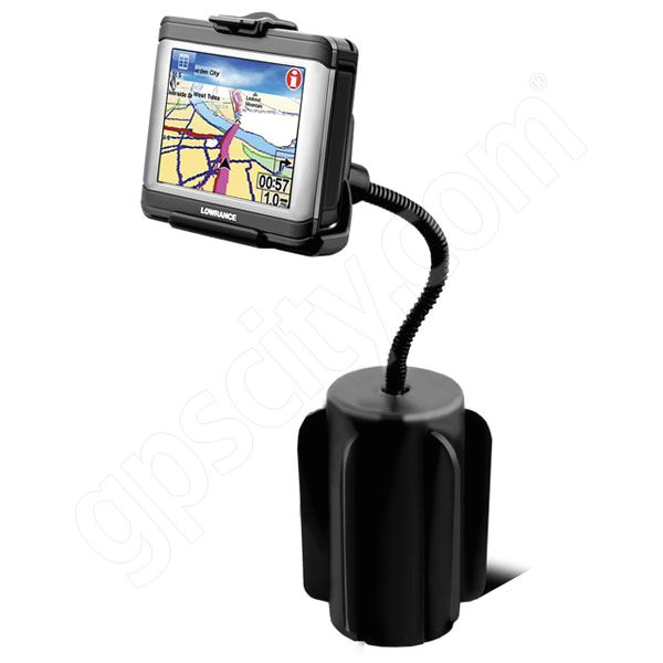 RAM Mount Lowrance XOG Series Vehicle Cup Holder Mount