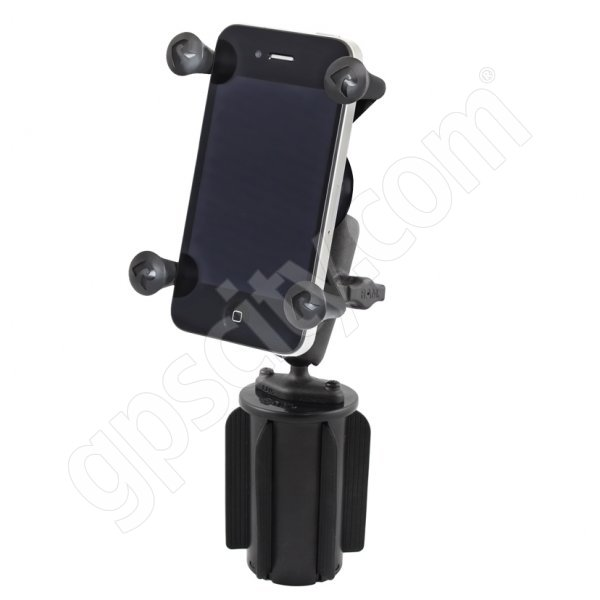 RAM Mount Universal X-Grip Mobile Phone Vehicle Cup Holder B-Ball