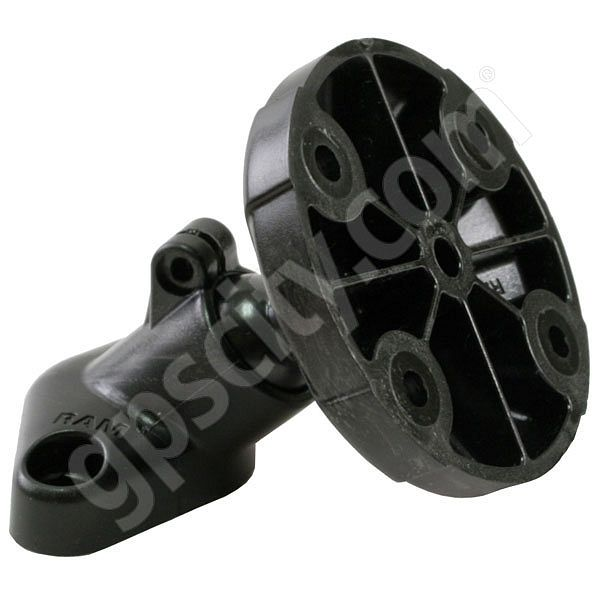 RAM Mount Plastic Round Base with Snap Link Diamond