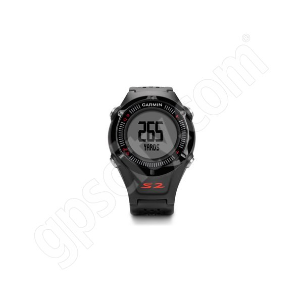 Garmin Approach S2 Black and Red