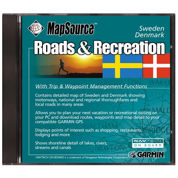 RnR SweDen - Sweden map garmin