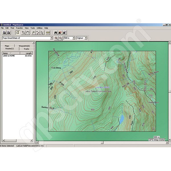 Garmin Topographic Great Britain CD Additional Photo #1