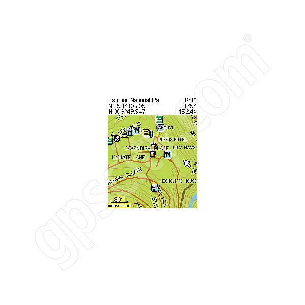 Garmin Topographic Great Britain CD Additional Photo #2