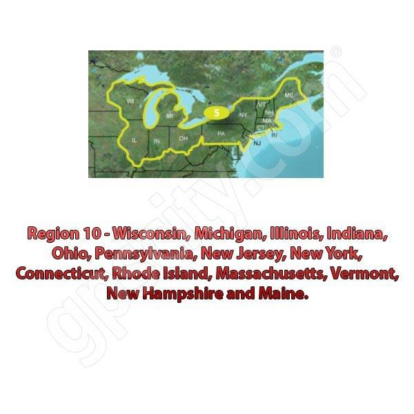 TOPO US K Northeast DVD - Garmin topo us 24k northeast dvd maps