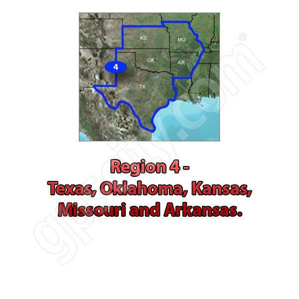 TOPO US K South Central DVD - Garmin topo us 24k northeast dvd maps