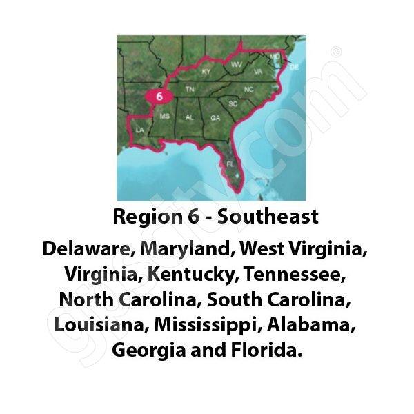 TOPO US K Southeast DVD - Garmin topo us 24k northeast dvd maps