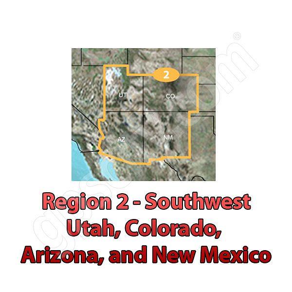 TOPO US K Southwest DVD - Topo us 24k mountain central map