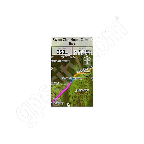 Garmin TOPO US K Southwest DVD - Topo us 24k mountain central map