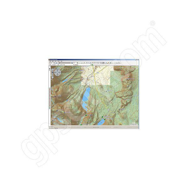 Garmin TOPO US K West DVD - Garmin topo us 24k northeast dvd maps