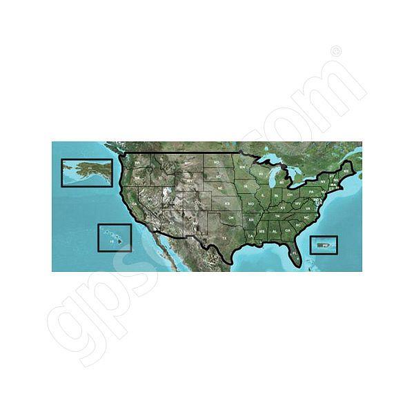 Garmin Topographic 100k Usa Dvd With Basecamp