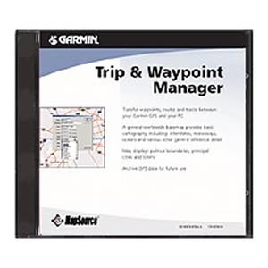 Garmin Trip and Waypoint CD