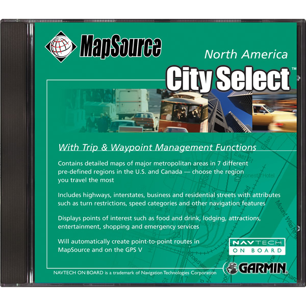 Garmin City Select CD USA v4.01