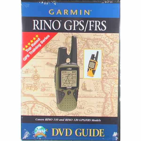 GPS Outfitters Rino 110 and 120 DVD