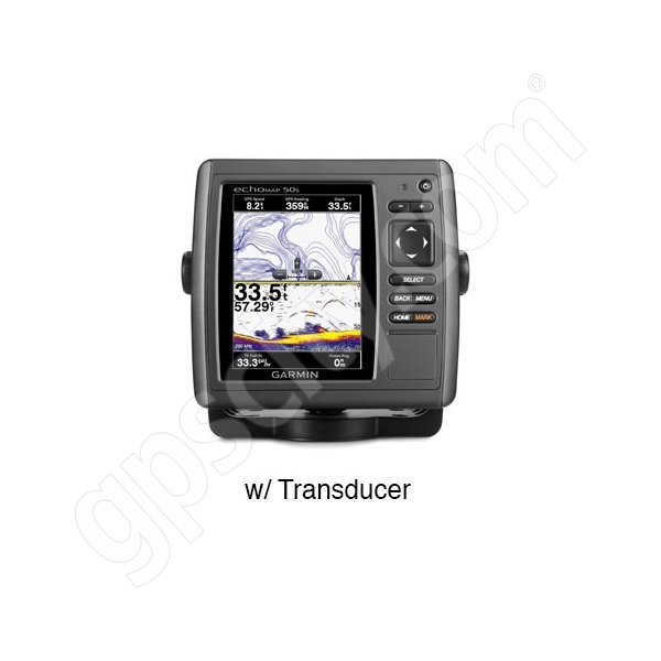 Garmin echoMAP 50s with Dual Frequency Transducer
