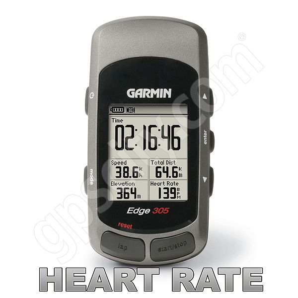 Garmin edge 305hr gps with heart rate monitor.