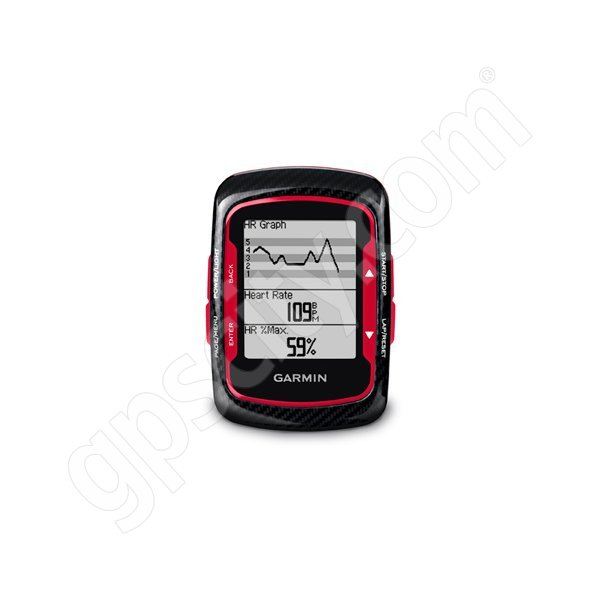 Garmin Edge 500 Red with Cadence and Heart Rate Monitor