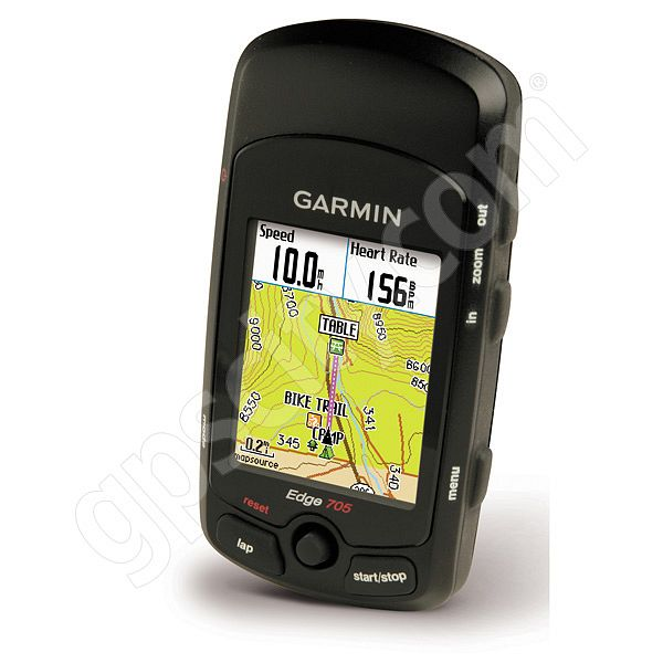 Garmin Edge 705 with CAD and HRM Sensors