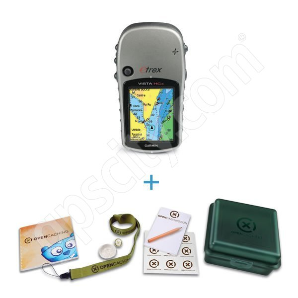 Garmin eTrex Vista HCx with FREE OpenCaching Kit