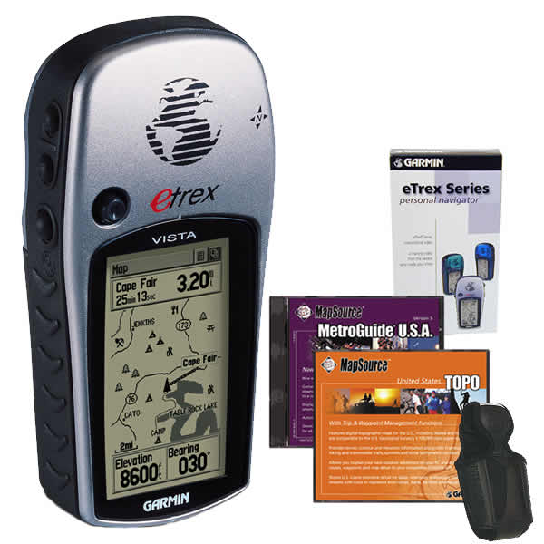 Garmin eTrex Vista Bundle
