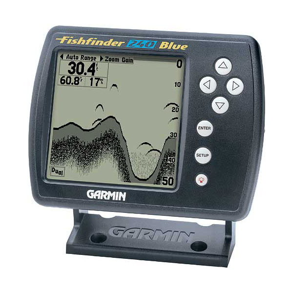 Garmin FishFinder 240 BLUE with Transducer