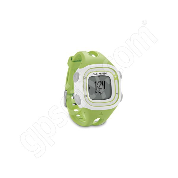 Garmin Forerunner 10 Green and White Additional Photo #1