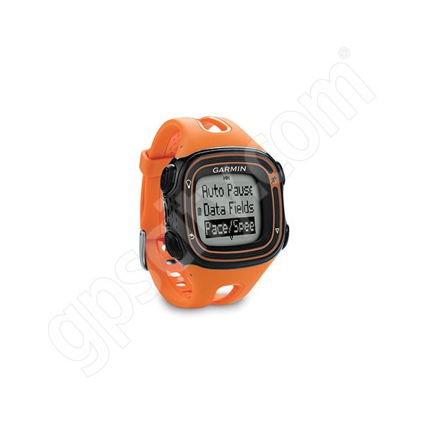 Garmin Forerunner 10 >> Forerunner 10 Orange And Black Running Watch