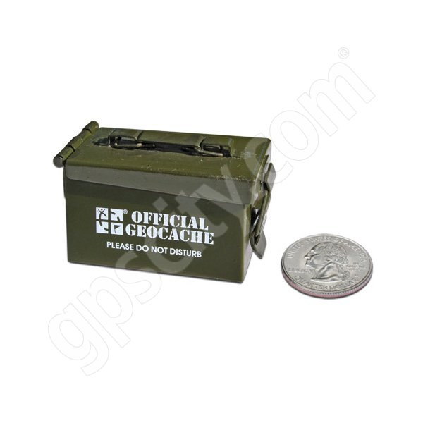Geocaching Micro Ammo Can