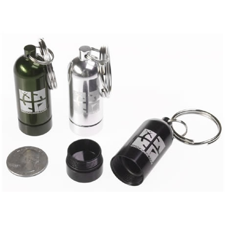 Geocaching Micro Cache Black
