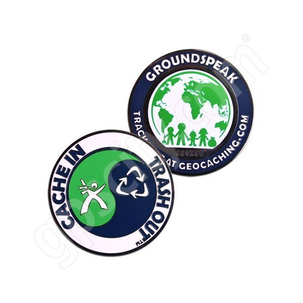 Geocaching Official CITO Trackable Geocoin