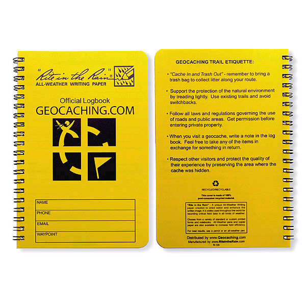 site home geocaching gear cache log books share print geocaching ...