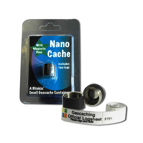 Geocaching Nano Cache Green