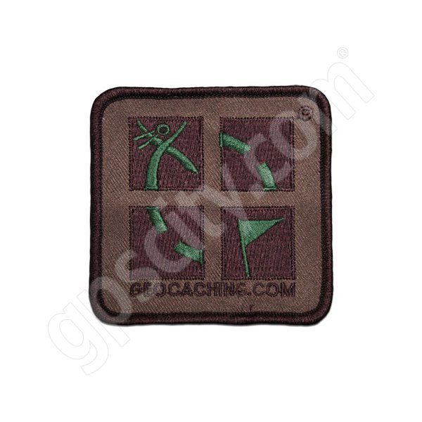 Geocaching Geo Patch Camo