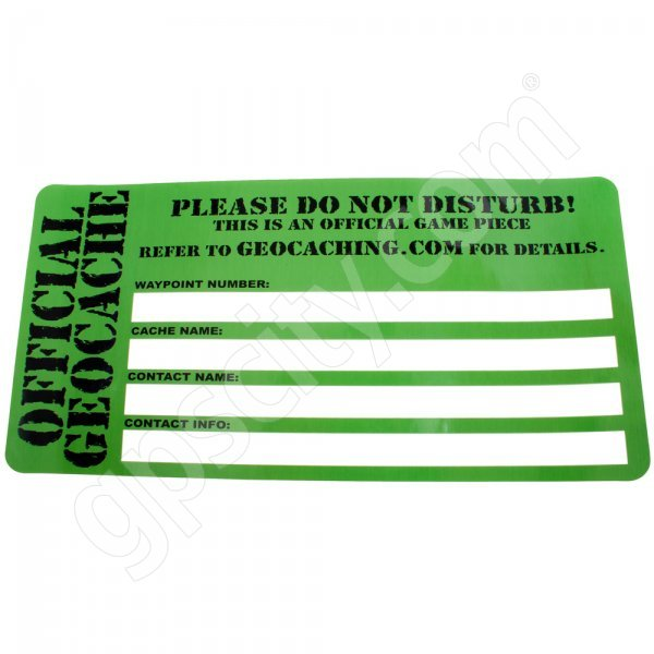 Geocaching Official Sticker Large