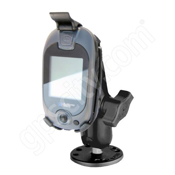 GolfBuddy Pro and Tour Permanent Golf Cart Mount
