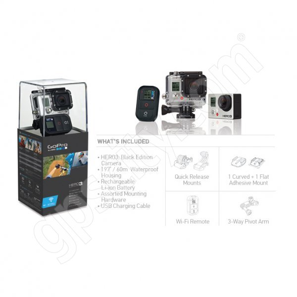 GoPro HD HERO3 Black Surf Edition Additional Photo #4