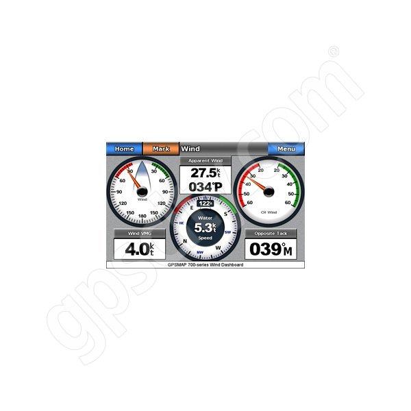 Garmin 5200 wind dashboard - Garmin GWS 10
