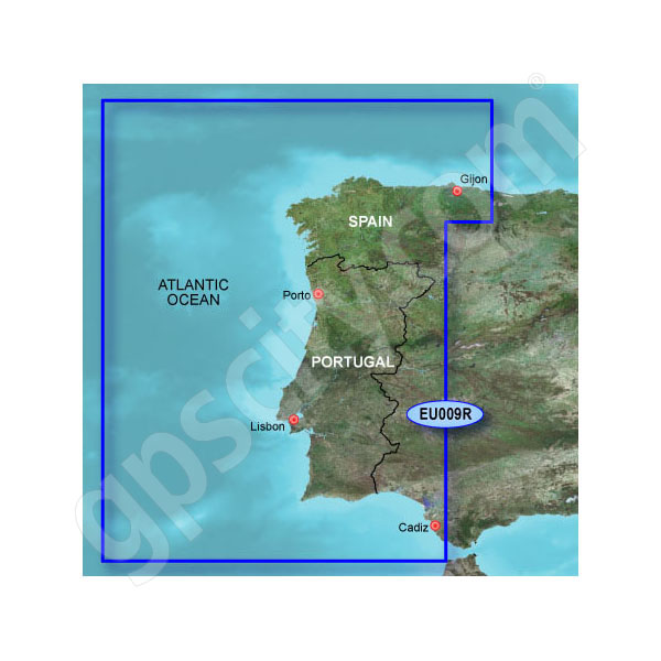 Garmin Card BlueChart g2 HEU009R