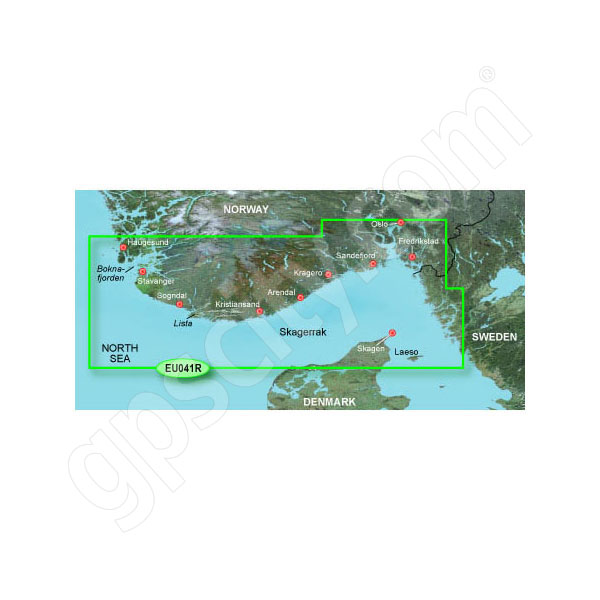 Garmin Card BlueChart g2 HEU041R