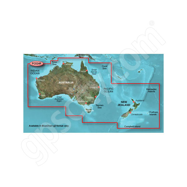 microSD Card BlueChart g2 HD Australia and New Zealand HXPC024R